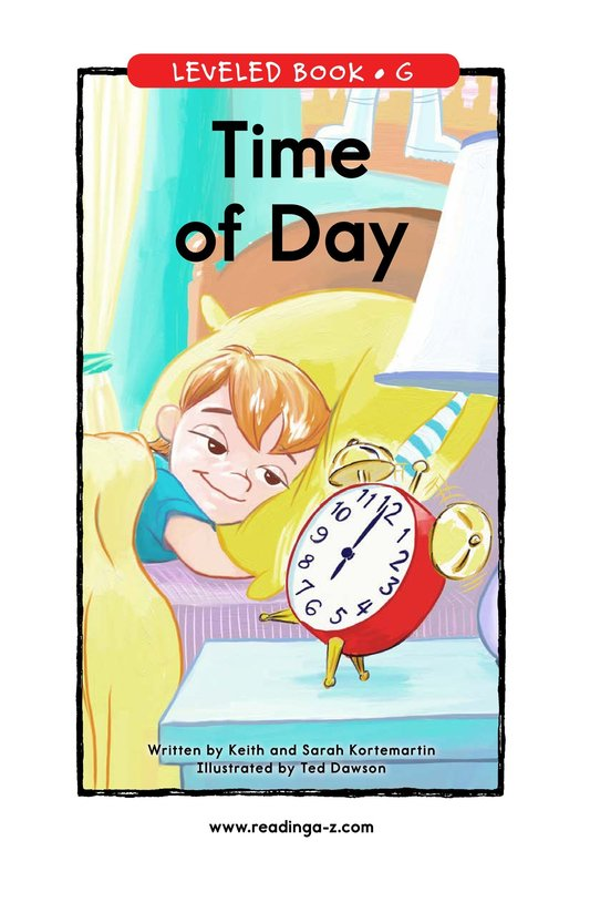 Book Preview For Time of Day Page 1