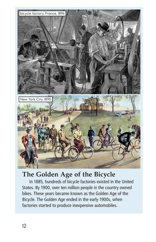 Book Preview For History of the Bicycle Page 12