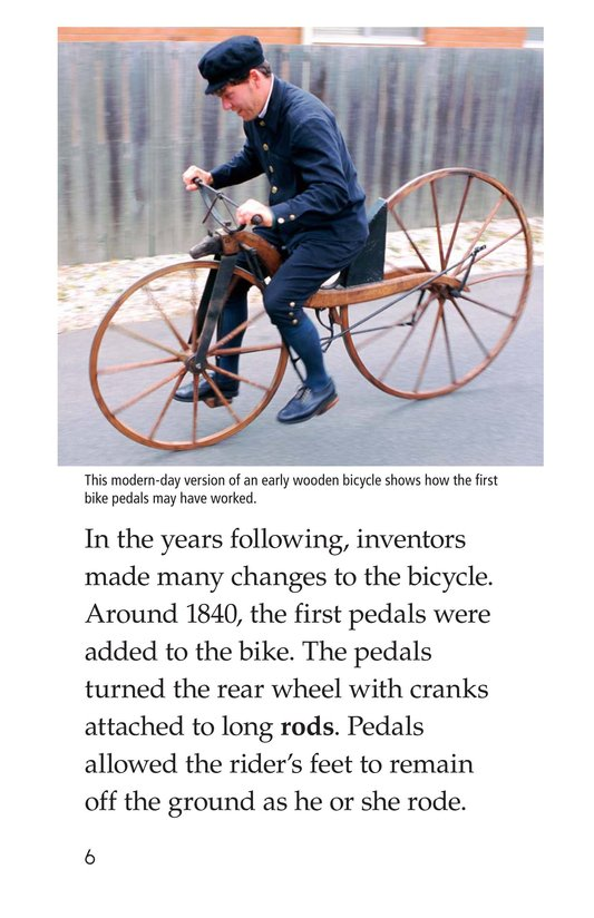 Book Preview For History of the Bicycle Page 6