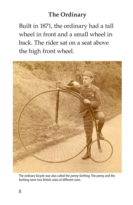 Book Preview For History of the Bicycle Page 8