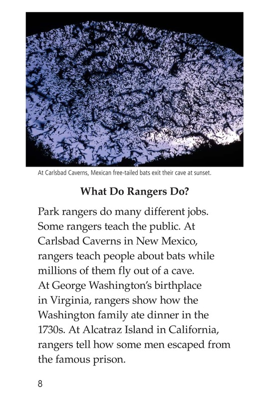 Book Preview For Park Rangers Page 8