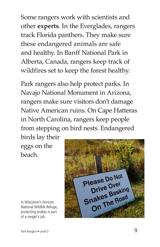 Book Preview For Park Rangers Page 9