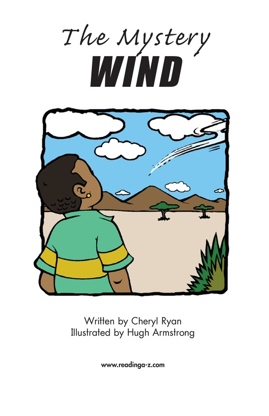 Book Preview For The Mystery Wind Page 2