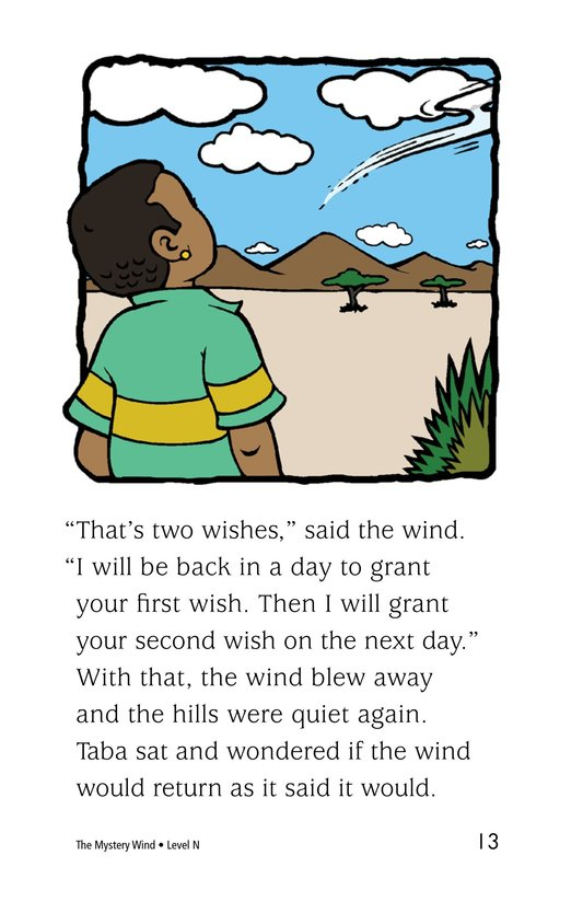 Book Preview For The Mystery Wind Page 13