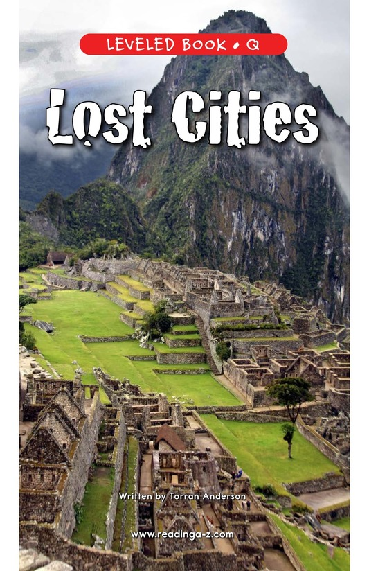 Book Preview For Lost Cities Page 1