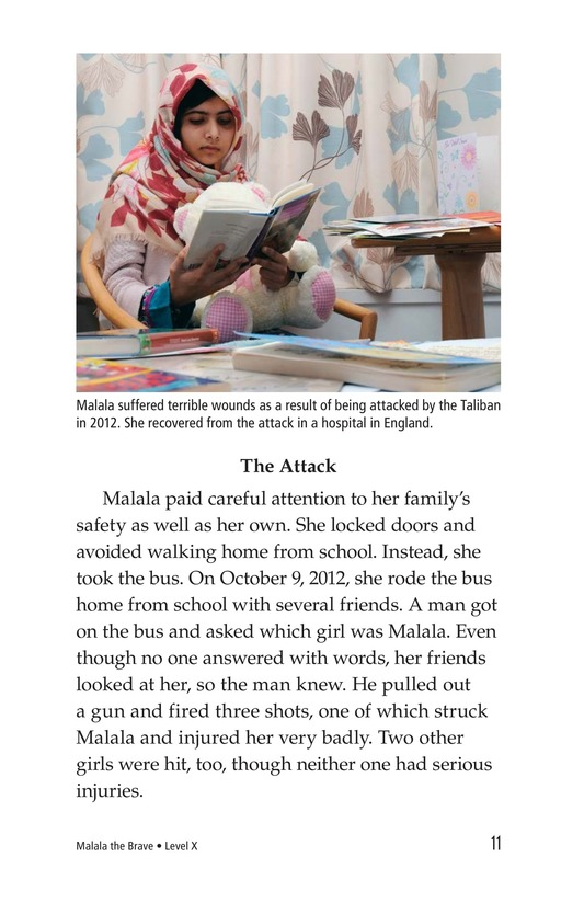 Book Preview For Malala the Brave Page 11