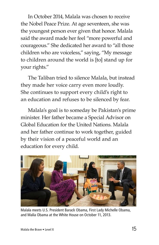 Book Preview For Malala the Brave Page 15