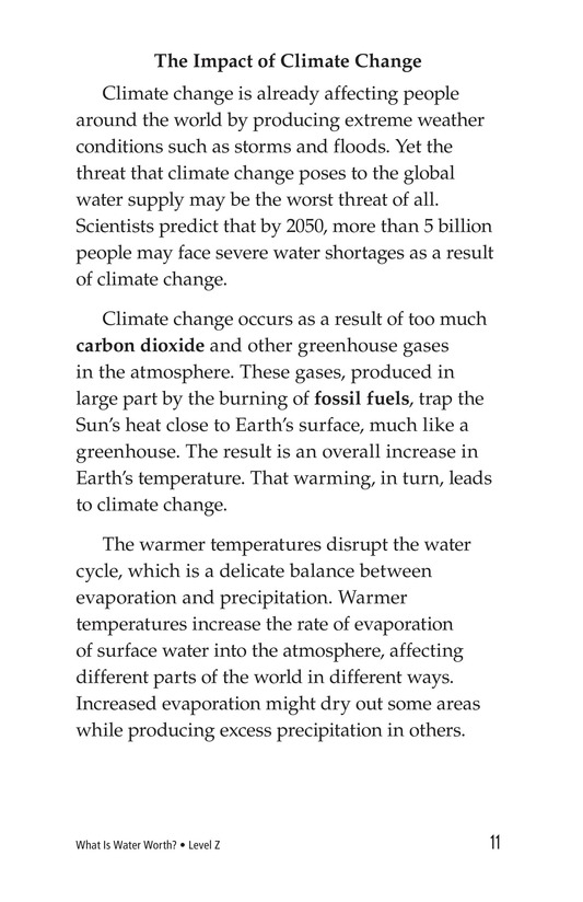 Book Preview For What Is Water Worth? Page 11