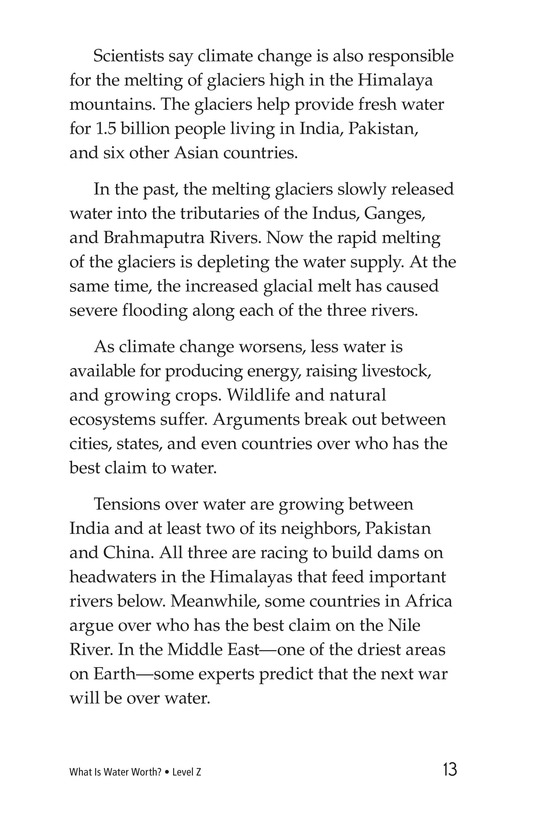 Book Preview For What Is Water Worth? Page 13