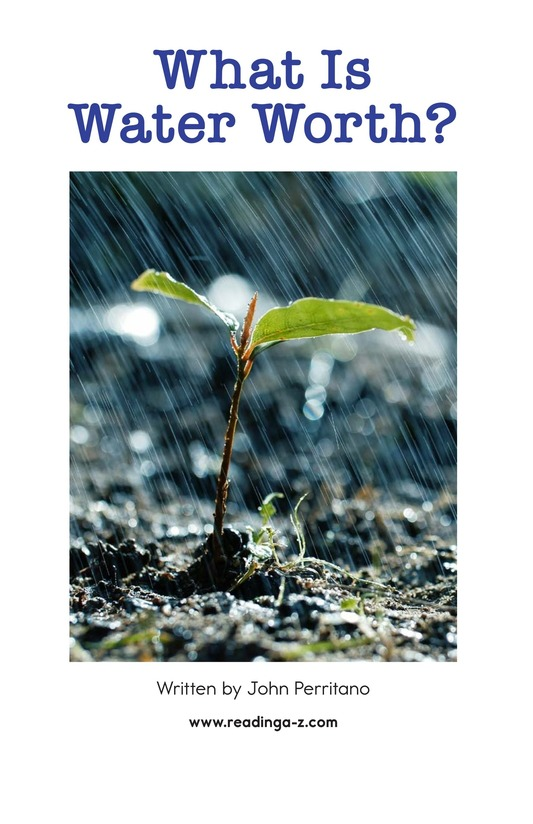 Book Preview For What Is Water Worth? Page 2