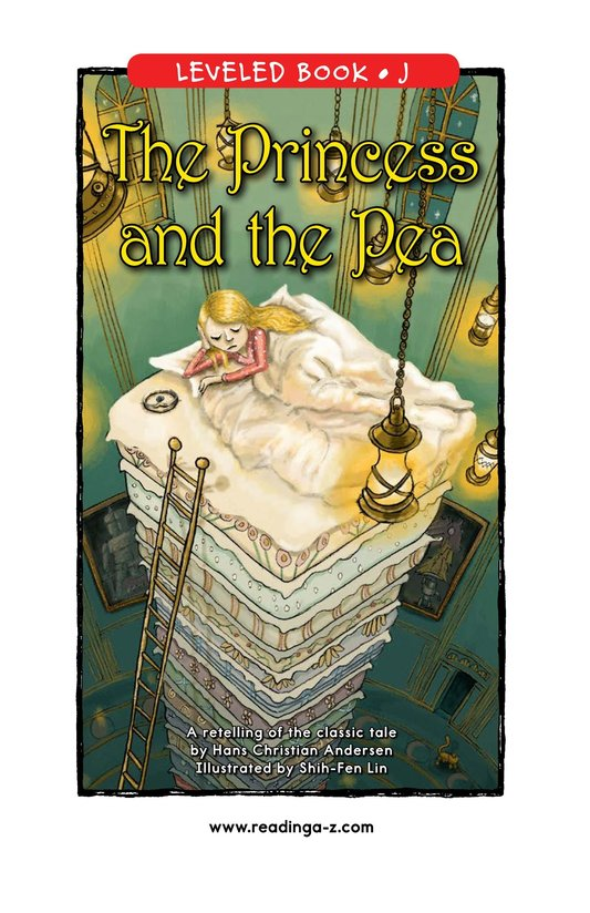 Book Preview For The Princess and the Pea Page 0