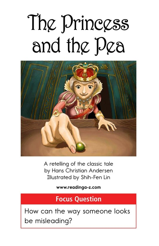 Book Preview For The Princess and the Pea Page 1