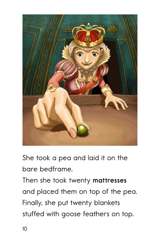 Book Preview For The Princess and the Pea Page 10