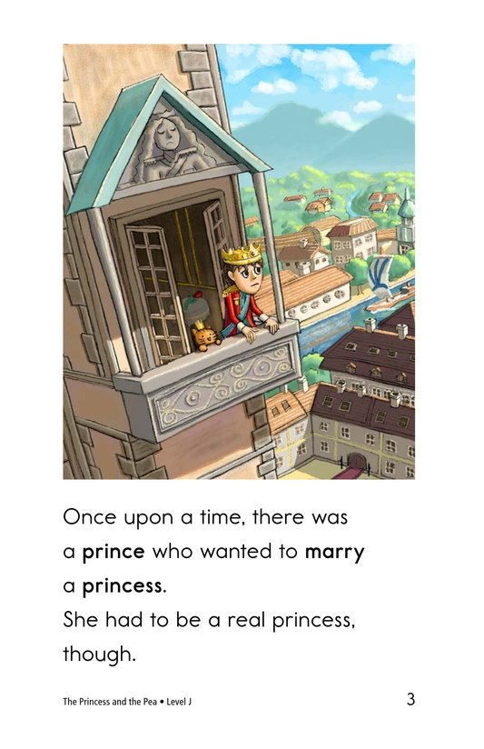 Book Preview For The Princess and the Pea Page 3