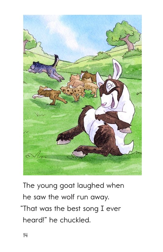 Book Preview For The Goat and the Singing Wolf Page 14