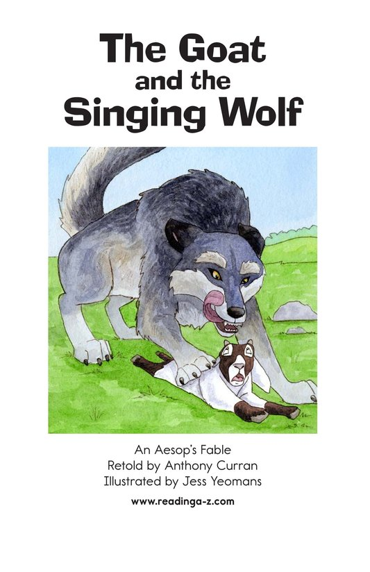 Book Preview For The Goat and the Singing Wolf Page 2