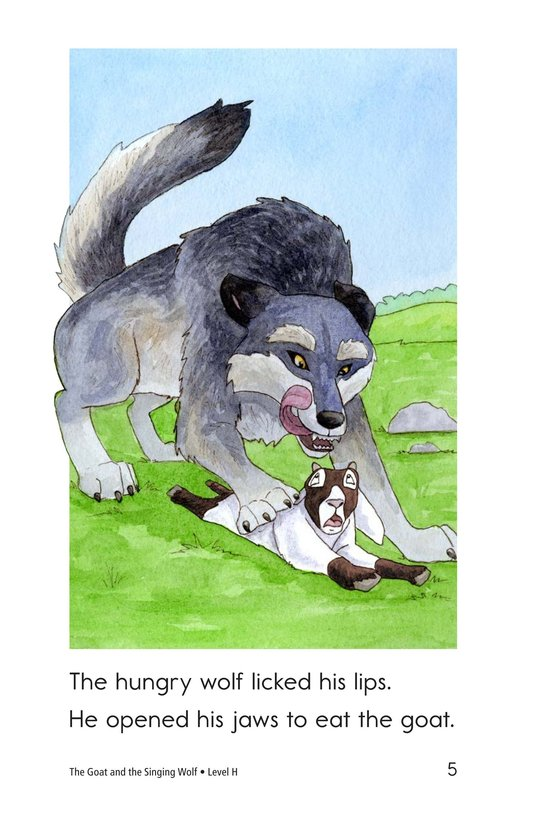 Book Preview For The Goat and the Singing Wolf Page 5