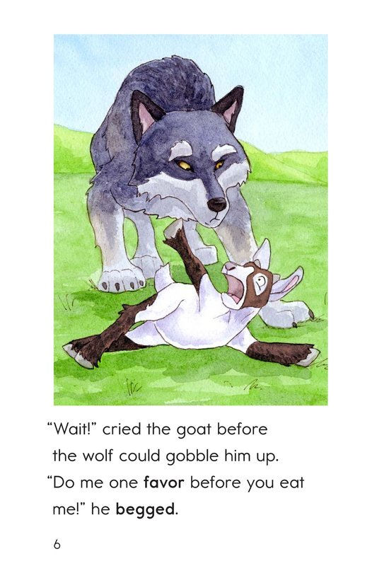 Book Preview For The Goat and the Singing Wolf Page 6