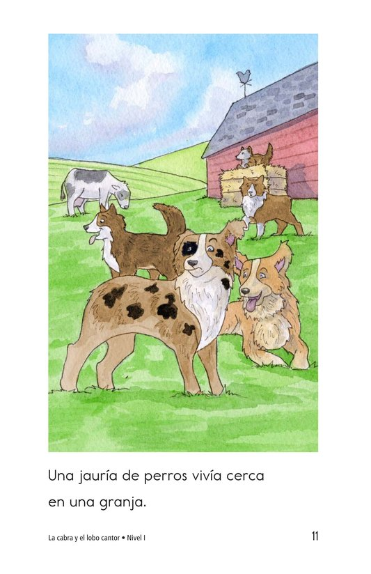 Book Preview For The Goat and the Singing Wolf Page 11