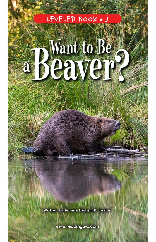 Book Preview For Want to Be a Beaver? Page 1
