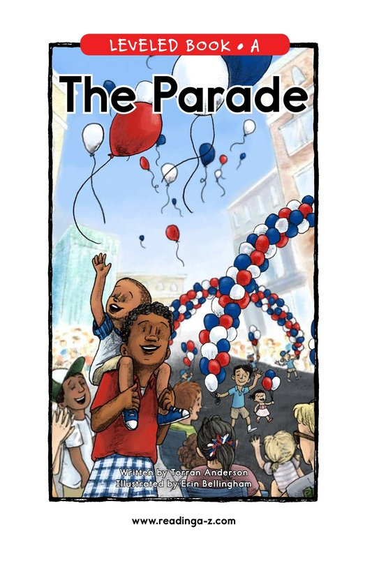 Book Preview For The Parade Page 1