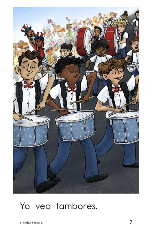 Book Preview For The Parade Page 7