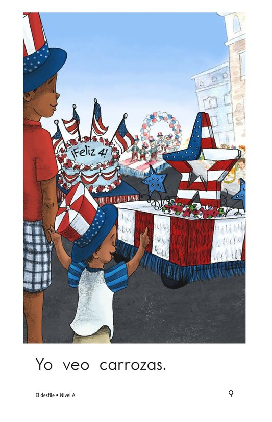 Book Preview For The Parade Page 9