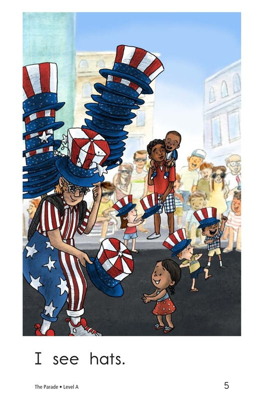 Book Preview For The Parade Page 5