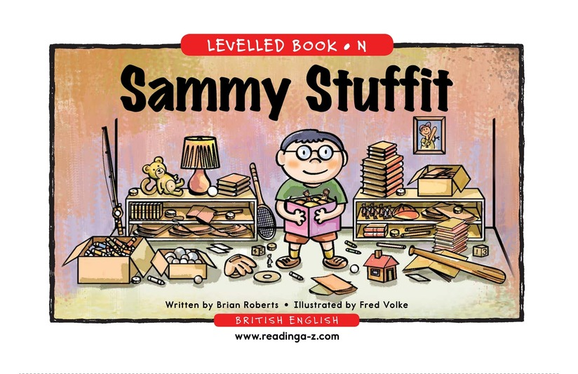 Book Preview For Sammy Stuffit Page 1