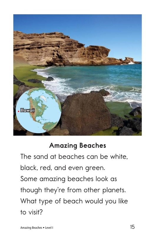 Book Preview For Amazing Beaches Page 15