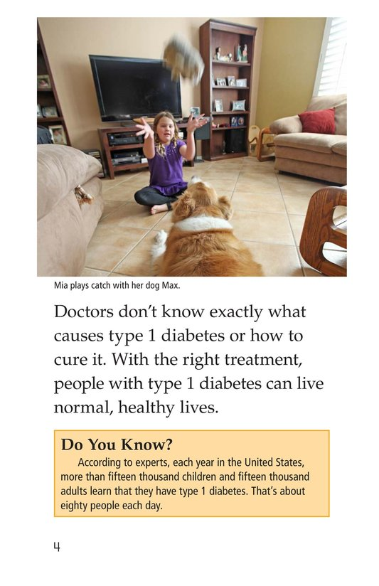 Book Preview For Diabetes and Me Page 4