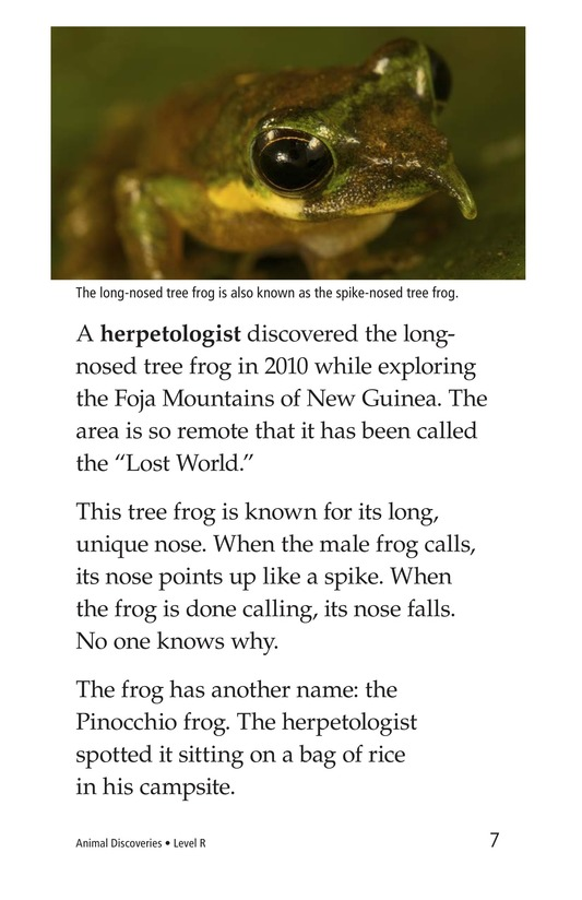 Book Preview For Animal Discoveries Page 7