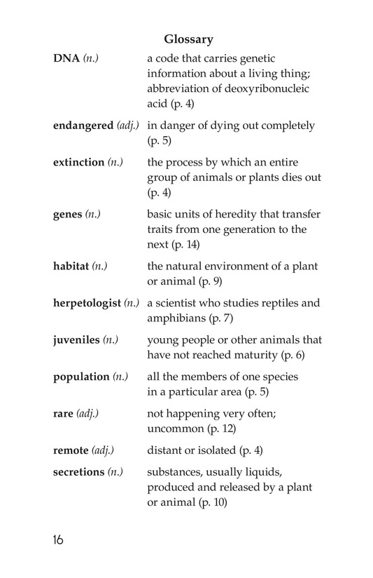 Book Preview For Animal Discoveries Page 16