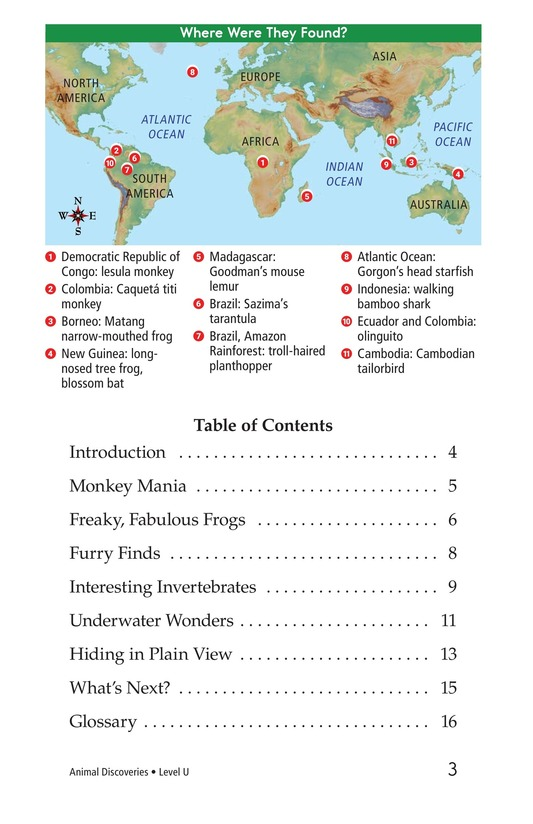 Book Preview For Animal Discoveries Page 3