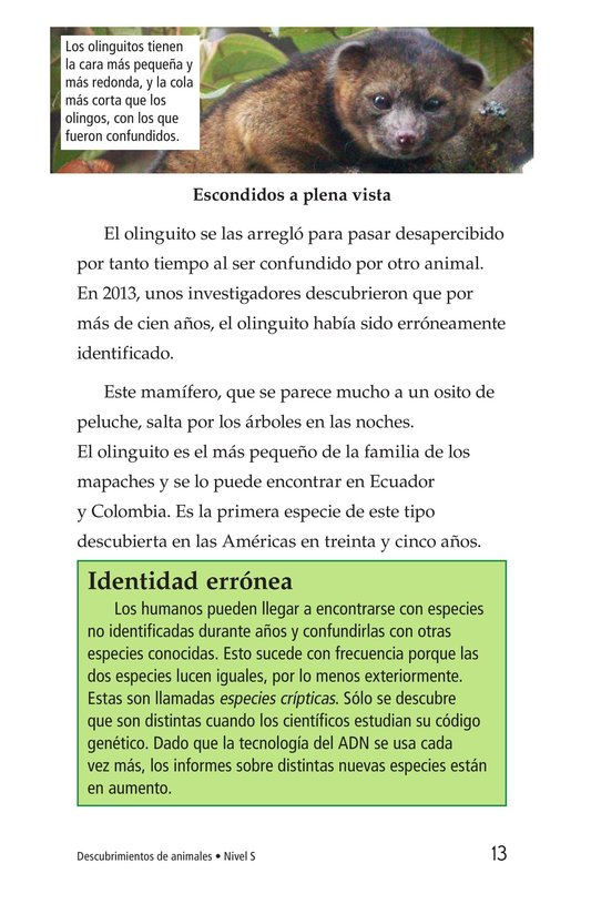 Book Preview For Animal Discoveries Page 13