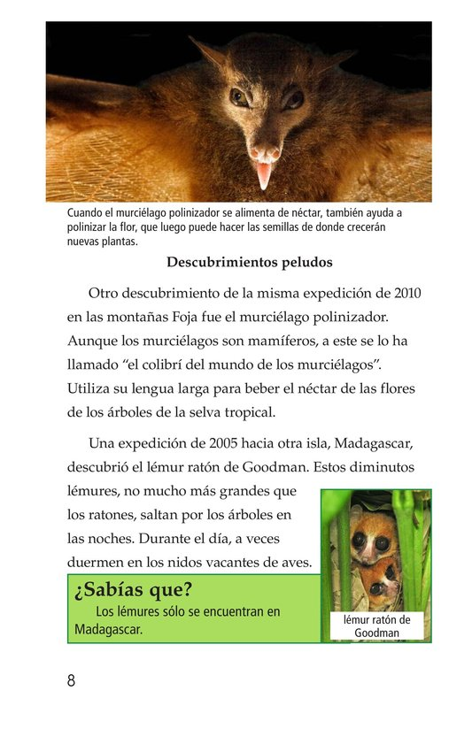 Book Preview For Animal Discoveries Page 8
