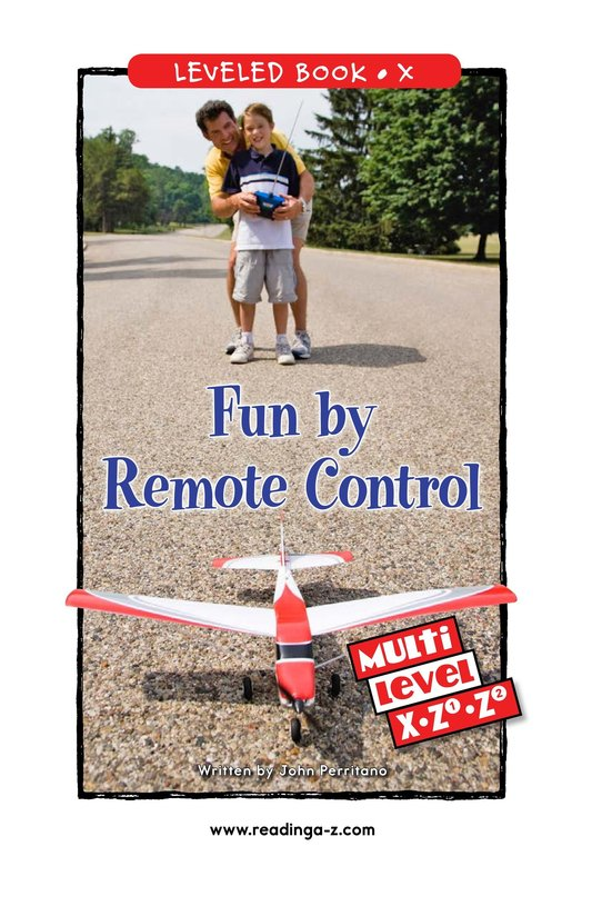 Book Preview For Fun by Remote Control Page 0