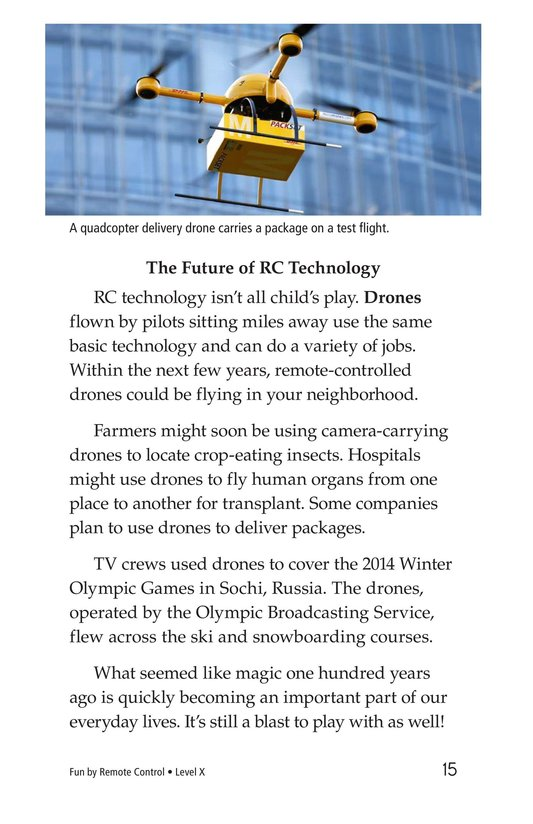 Book Preview For Fun by Remote Control Page 15