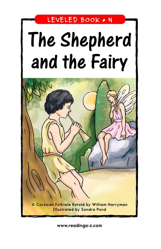 Book Preview For The Shepherd and the Fairy Page 1