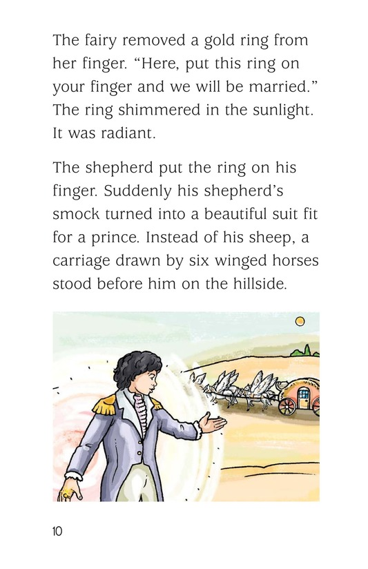Book Preview For The Shepherd and the Fairy Page 10