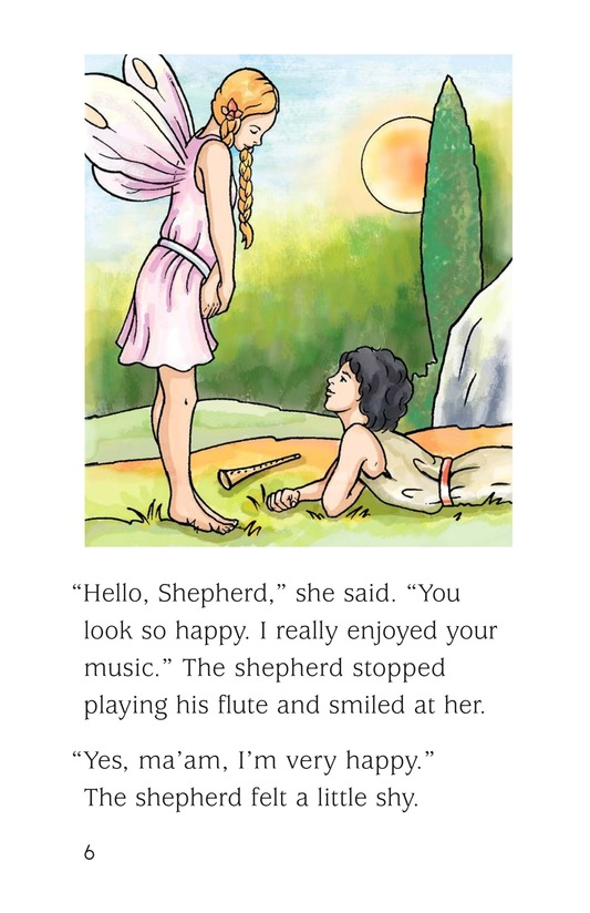 Book Preview For The Shepherd and the Fairy Page 6