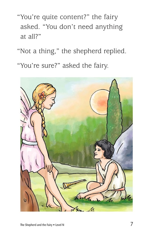 Book Preview For The Shepherd and the Fairy Page 7