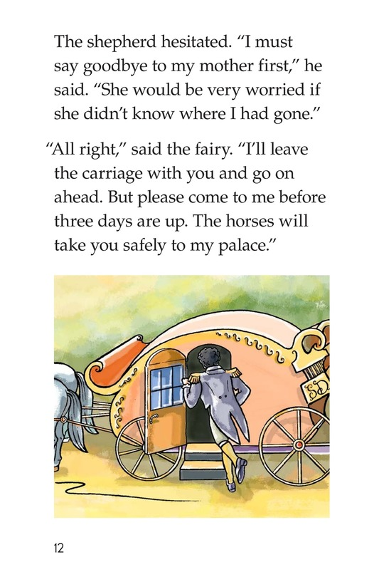 Book Preview For The Shepherd and the Fairy Page 12