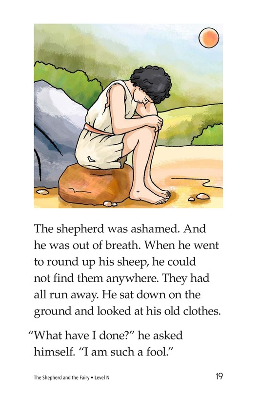 Book Preview For The Shepherd and the Fairy Page 19
