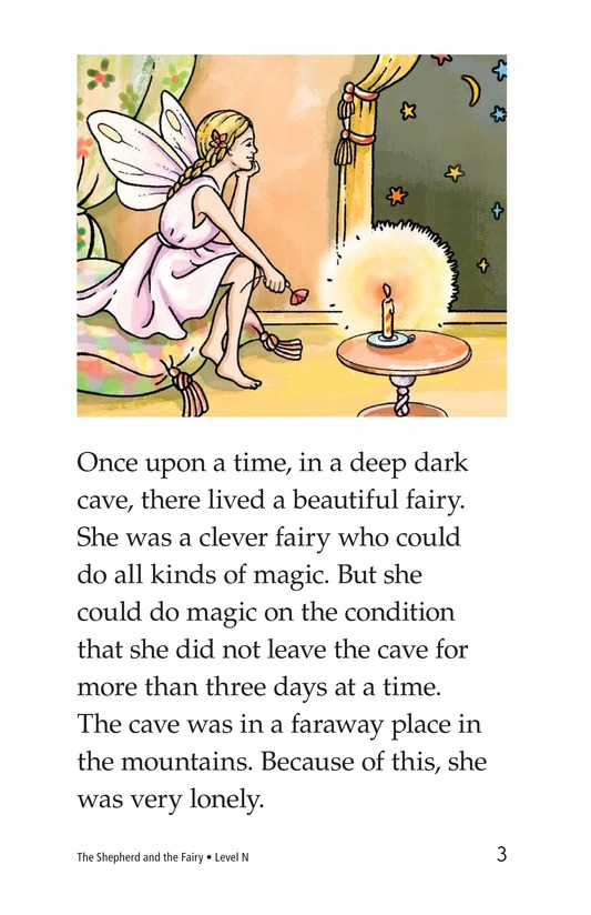 Book Preview For The Shepherd and the Fairy Page 3