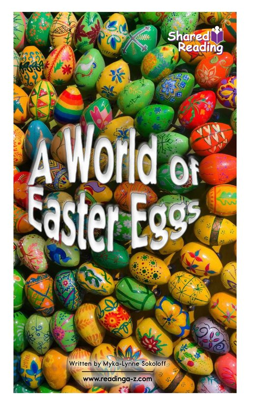 Book Preview For A World of Easter Eggs Page 1