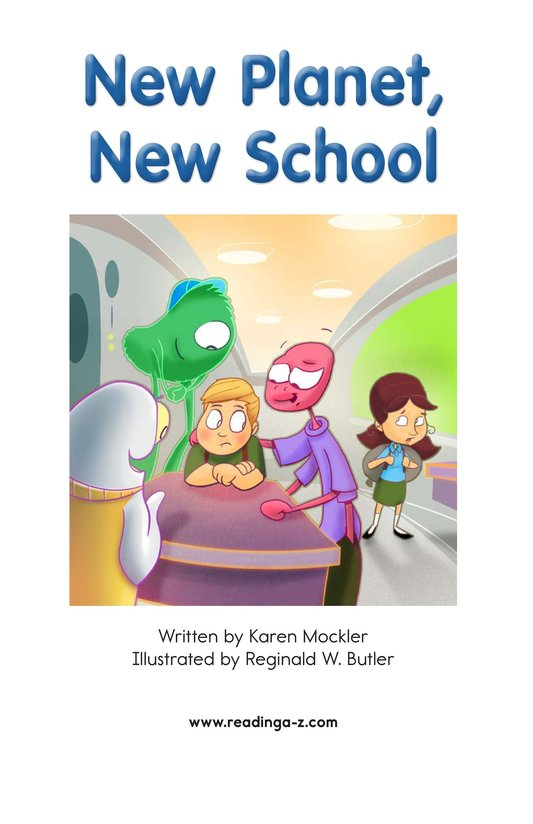 Book Preview For New Planet, New School Page 2