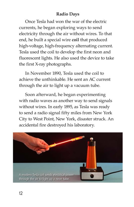 Book Preview For The Genius of Tesla Page 12