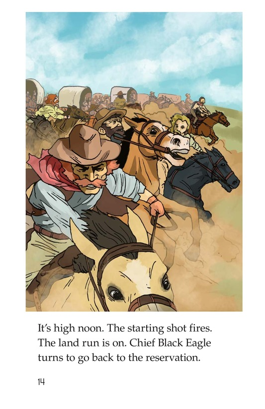 Book Preview For The Great Land Run Page 14