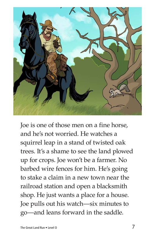 Book Preview For The Great Land Run Page 7